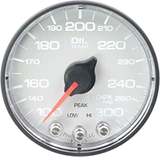 Stepper Motor W//Peak /& Warn Spek-Pro Smoke//Blk Auto Meter P32552 Gauge 120Psi Oil Press 2 1//16
