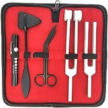 "کیت عصب کشی 5 عدد - Reflex Percussion Taylor Hammer، Penlight، Tuning Fork C 128 C 512، Bandage Scissors 5.5 """