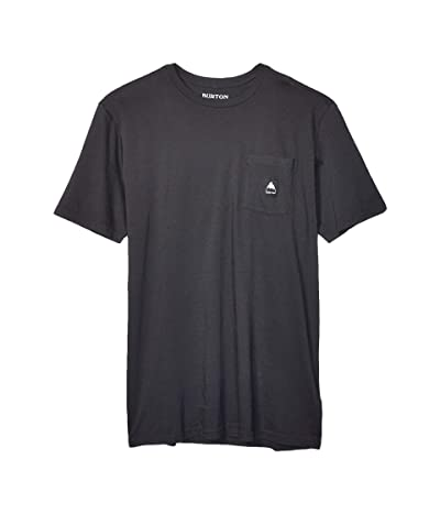 Burton Colfax Short Sleeve T-Shirt (True Black) Clothing