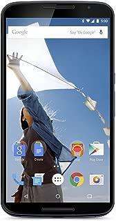 Motorola Nexus 6 GSM Unlocked Cellphone, 32GB, Midnight Blue (Renewed)