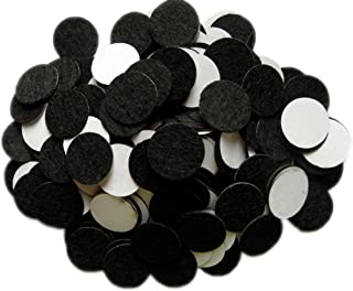 YYCRAFT 200 pcs of Adhesive Felt 1/2(12mm) Circles for DIY and Sewing Handcraft Various Package Sizes Wholesale, Die Cut DIY Projects