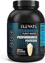 Plant Based Vegan Protein Powder with High BCAAs and Glutamine, Low Carb Protein Powder Vanilla Milkshake, Non GMO, NO Sug...