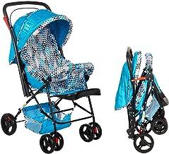 Mee Mee Baby Stroller Pram | 3 Position Seating | Reversible Handle | Fully Rotating Wheels | for Newborn Baby/Kids, 0-4 Y...