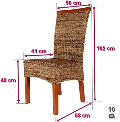 1212 Venezia Set de 6 assises de chaises de rechange en