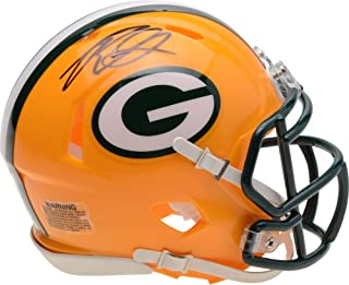 Rashan Gary Green Bay Packers Autographed Riddell Speed Mini Helmet - Fanatics Authentic Certified - Autographed NFL Mini Helmets