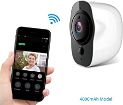 Zeus CCTV Outdoor 1080P WiFi Battery Powered Pod Camera Home Security Surveillance Mobile Smart Device (Low Power Consumption)