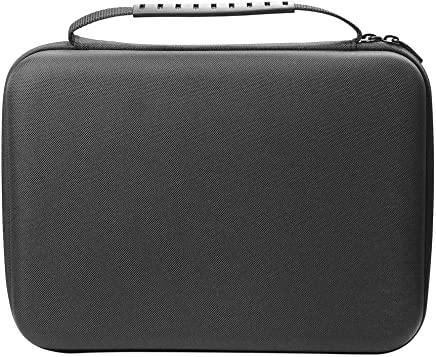 Janjunsi Travel Case for Sony Mini PS1 Playstation Classic,EVA Hard Box Electronic Portable Case Cover Fits Mini PS1(Dustproof,Black)