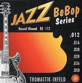 Thomastik Cuerda para Guitarra Eléctrica Jazz Swing Mi .050, Flatwound, Níquel