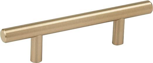 Amerock BP40515BBZ Bar Cabinet Pull, 3 in (76 mm) Center-to-Center, Golden Champagne