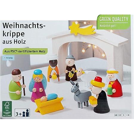 Coppenrath Holzkrippe neu 16955 Fr/öhliche Weihnachten