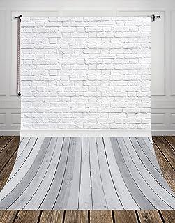 NIVIUS PHOTO 150*300cm gris Holzboden Studio Fondo Fotográfico Fotografía desaparece en vinilo blanco ladrillo para recién...