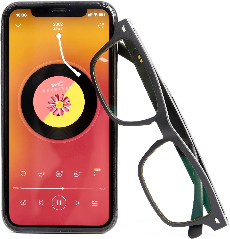 Pinzheng Smart Glasses Wireless Bluetooth 5.0 Hands-Free Calling Music Audio Sport Headset Eyewear Intelligent Eyeglasses