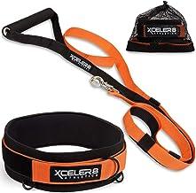 X-PLOSIVE Speed Training Kit   مقاومت در برابر پرش و انتشار   نوار مهار و مقاومت، تجهیزات سرعت و چابکی: با حداکثر سرعت دویدن و فوتبال، بسکتبال، فوتبال   جوانان و بزرگسالان آماده