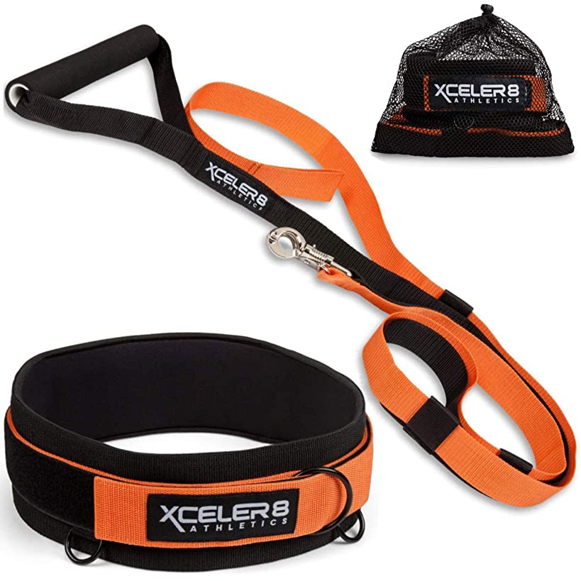 X-PLOSIVE Speed Training Kit   Overload Running Resistance & Release   Harness & Resistance Band, Speed and Agility Equipment: Sprint and Football, Basketball, Soccer   Youth and Adult Ready