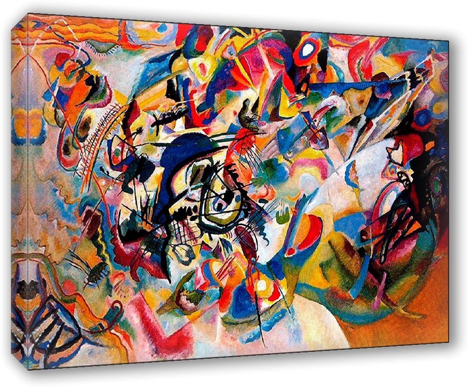 comprar ahora Cuadro sobre lienzo il Meglio del arte 70x 70x 70x 100cm) Composición VII–Kandinsky  Venta barata