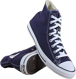 M9622: Chuck Taylor All Star High Top Unisex Navy Classic Sneakers