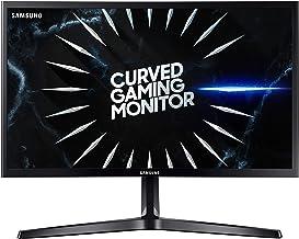 "Samsung Monitor Gaming CRG5 (C24RG52), Curvo (1800R), 24"", 1920x1080 (Full HD), VA, 144 Hz, 4 ms, FreeSync, HDMI, Display Port, Ingresso Audio, Eye Saver Mode, Flicker Free, Nero"