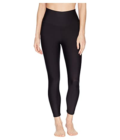 ALO High-Waist Airlift Capri (Black) Women