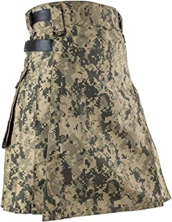 Best Kilts Men US ACU Camouflage Tactical Army Utility Kilt
