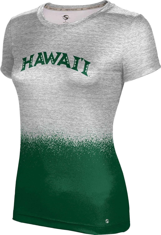 ProSphere University of Hawaii Girls' Performance T-Shirt (Spray Over)