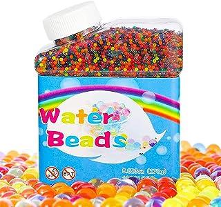 otutun Perles Gel Eau,50000 Pièces Cristaux d'eau Perles, tri biodégradable Boules d'eau Jouets, Perles d'eau,coloré Balle...