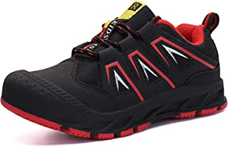 Sponsored Ad - VZIKUN Boys Girls Hiking Shoes Outdoor Kids Sneakers Trekking Walking Climbing Running