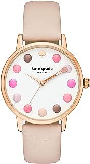 Kate Spade Women's Metro Three-Hand Rose Gold-Tone Alloy Watch KSW9028