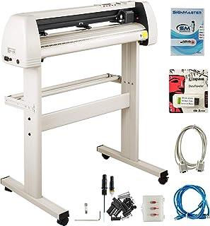 VEVOR Vinyl Cutter 28 Inch Vinyl Cutter Machine with 20 Blades Maximum Paper Feed 720mm Vinyl Plotter Cutter Machine with ...
