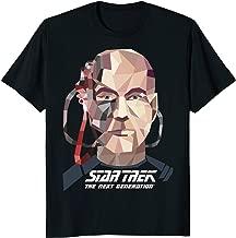 Star Trek Next Generation Locutus Low Poly Graphic T-Shirt