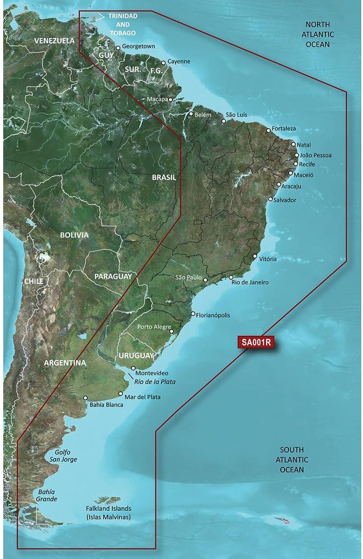 Garmin blueeeChart G2 Vision VSA001R South America East Coast