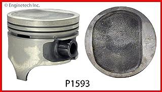 STD Piston GM 5.0L 305 Dish Top Enginetech P1503 8
