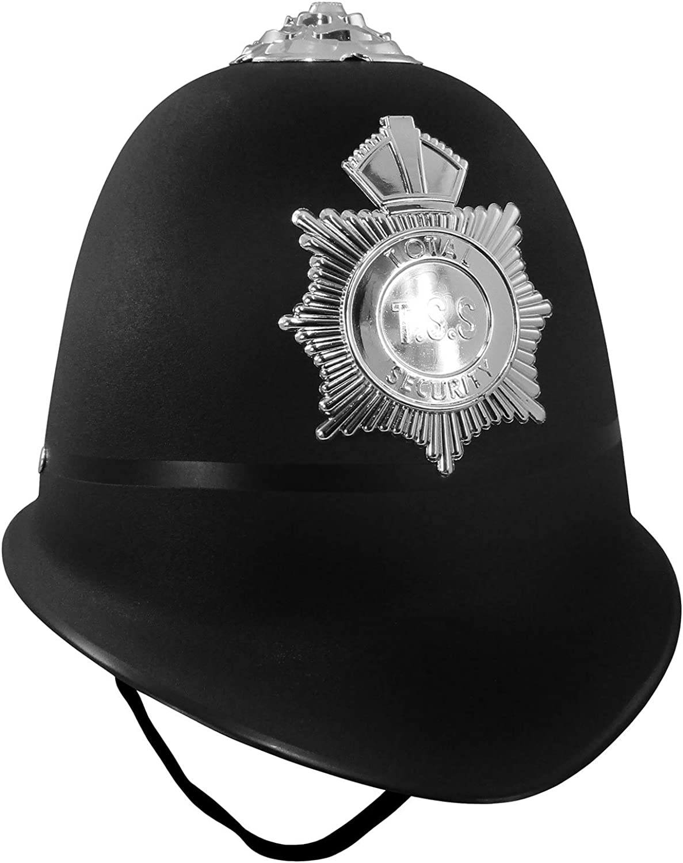 Nicky Bigs Novelties Outlet SALE English Bobby Bla Accessory 4 years warranty Costume Helmet