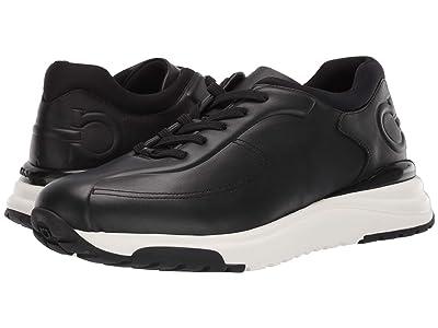 Salvatore Ferragamo Tulius Sneaker (Black) Men