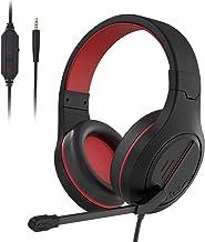 هدست استریو Sads SA926 Gaming هدست از طریق هدفون با میکروفون برای کامپیوتر / PS3 / PS4 / Xbox One / Xbox 360 / تلفن / مک / لپ تاپ توسط EMMETTS