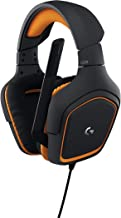 Logitech G231 Prodigy Gaming Headset – Game-Quality Stereo Sound – Playstion 4, Xbox One, Nintendo Switch Gaming System Compatible – Folding, Unidirectional Mic – Lay-Flat Earpieces