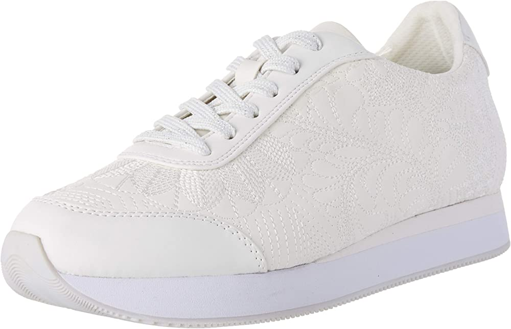 Desigual shoes galaxy lottie, scarpe sneakers da donna, in pelle sintetica 20SSKP34100036A