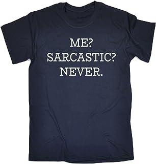 123t Men's Me Sarcastic Never Tshirt