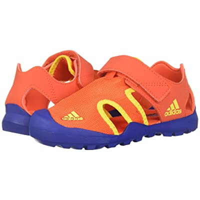 adidas Outdoor Kids Captain Toey (Toddler/Little Kid/Big Kid) (Active Orange/Collegiate Royal/Shock Yellow) Boys Shoes