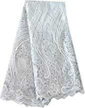 bridal lace fabric by the yard
