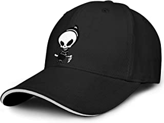 weleve Baseball Cap Men And Women Summer Personality Skull Dad Hat Sunscreen Female Quick-Acting Couple Hat Embroidery Adjustable Hat