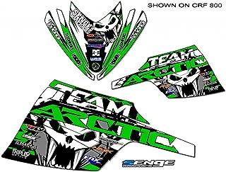 Compatible with Arctic Cat 2003-2006 Firecat/Sabercat Team Arctic Green Wrap
