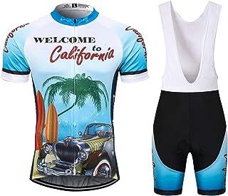 Thriller Rider Sports Herren California Sport & Freizeit MTB Fahrradbekleidung Radtrikot