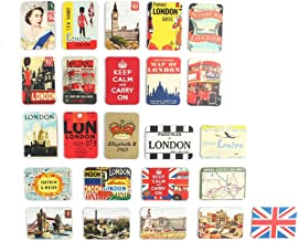 London refrigerator magnets set of 24 United Kingdom England souvenirs magnetic fridge magnet home decoration accessories arts crafts