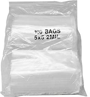 10,000 Plastic Zip Lock Ziplock Bags 1.5x1.5 CLEAR 2Mil