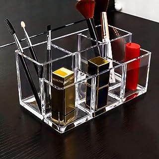 Make-updoos Cosmetische opbergdoos Lippenstifthouder, doorzichtige lipglosskoffer, voor make-up dressoir display & lipglos...