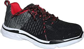 LuMon Zapatos de Seguridad Trabajo,Resistente Zapatillas,Transpirable Antideslizante Punci/ón Prueba para Hombre 36