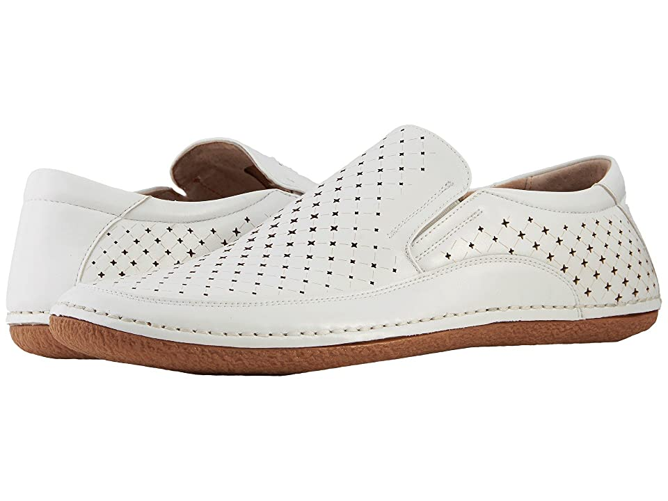 Stacy Adams Northpoint Slip On Casual Loafer (White) Men