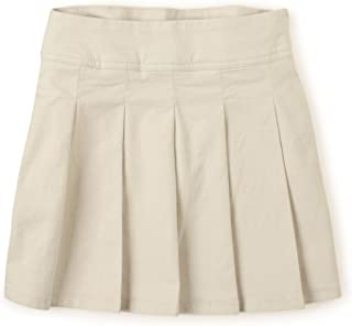 The Children's Place Big Girls' Uniform Skort, Bisquit 3300, 10