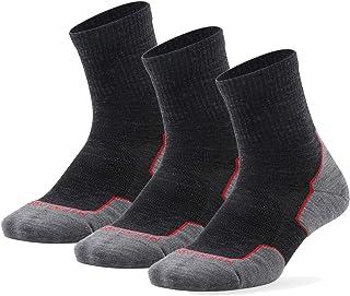 ZEALWOOD, 3 pares de calcetines unisex Crew Athletic