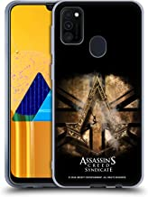 Official Assassin's Creed Gold Shilling Necklace Syndicate Logo Art Soft Gel Case Compatible for Samsung Galaxy M30s (2019)